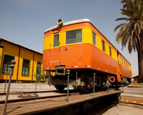 Eisenbahn Dokumentarfilm in Peru